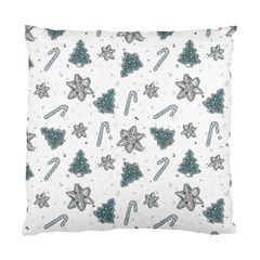 Ginger Cookies Christmas Pattern Standard Cushion Case (two Sides)