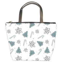 Ginger Cookies Christmas Pattern Bucket Bags