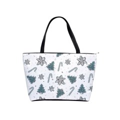 Ginger Cookies Christmas Pattern Shoulder Handbags