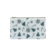 Ginger Cookies Christmas Pattern Cosmetic Bag (small)