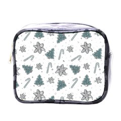 Ginger Cookies Christmas Pattern Mini Toiletries Bags