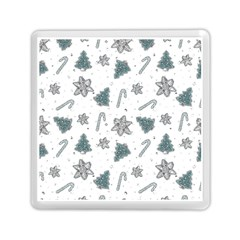 Ginger Cookies Christmas Pattern Memory Card Reader (square)