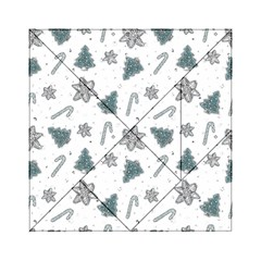 Ginger Cookies Christmas Pattern Acrylic Tangram Puzzle (6  X 6 )