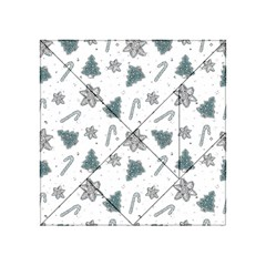 Ginger Cookies Christmas Pattern Acrylic Tangram Puzzle (4  X 4 )