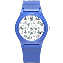 Ginger Cookies Christmas Pattern Round Plastic Sport Watch (s)