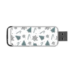 Ginger Cookies Christmas Pattern Portable Usb Flash (one Side)