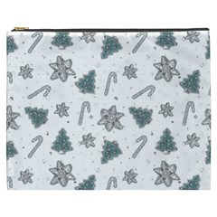 Ginger Cookies Christmas Pattern Cosmetic Bag (xxxl)