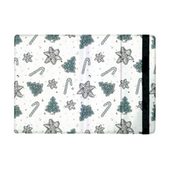 Ginger Cookies Christmas Pattern Apple Ipad Mini Flip Case