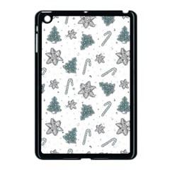 Ginger Cookies Christmas Pattern Apple Ipad Mini Case (black)