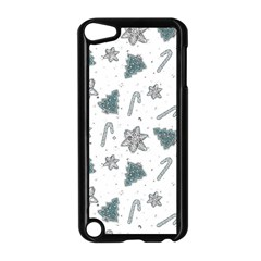 Ginger Cookies Christmas Pattern Apple Ipod Touch 5 Case (black)