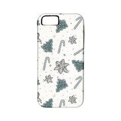 Ginger Cookies Christmas Pattern Apple Iphone 5 Classic Hardshell Case (pc+silicone)