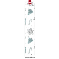 Ginger Cookies Christmas Pattern Large Book Marks