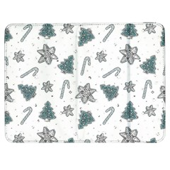 Ginger Cookies Christmas Pattern Samsung Galaxy Tab 7  P1000 Flip Case