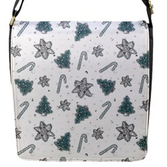 Ginger Cookies Christmas Pattern Flap Messenger Bag (s)