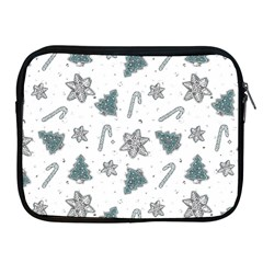 Ginger Cookies Christmas Pattern Apple Ipad 2/3/4 Zipper Cases