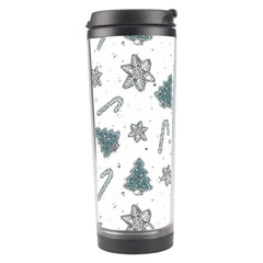 Ginger Cookies Christmas Pattern Travel Tumbler