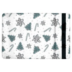 Ginger Cookies Christmas Pattern Ipad Air Flip