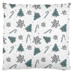 Ginger Cookies Christmas Pattern Standard Flano Cushion Case (one Side)