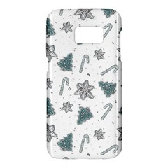 Ginger Cookies Christmas Pattern Samsung Galaxy S7 Hardshell Case