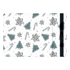 Ginger Cookies Christmas Pattern Apple Ipad Pro 10 5   Flip Case