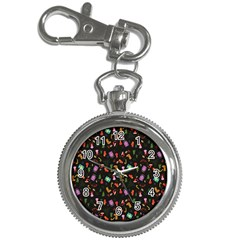 Christmas Pattern Key Chain Watches
