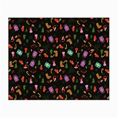 Christmas Pattern Small Glasses Cloth