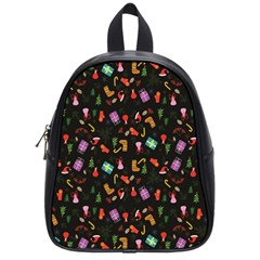 Christmas Pattern School Bag (small)