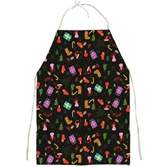 Christmas Pattern Full Print Aprons