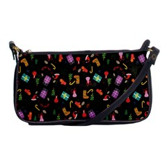 Christmas Pattern Shoulder Clutch Bags