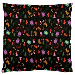 Christmas Pattern Large Cushion Case (two Sides)