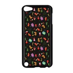 Christmas Pattern Apple Ipod Touch 5 Case (black)