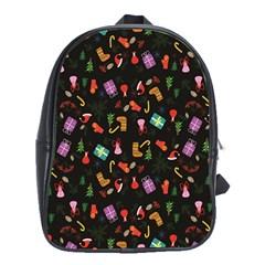 Christmas Pattern School Bag (xl)
