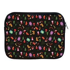 Christmas Pattern Apple Ipad 2/3/4 Zipper Cases