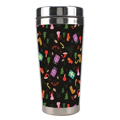 Christmas Pattern Stainless Steel Travel Tumblers