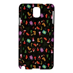Christmas Pattern Samsung Galaxy Note 3 N9005 Hardshell Case