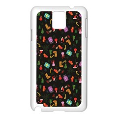 Christmas Pattern Samsung Galaxy Note 3 N9005 Case (white)