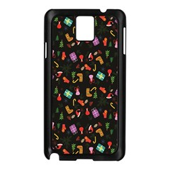 Christmas Pattern Samsung Galaxy Note 3 N9005 Case (black)