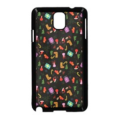Christmas Pattern Samsung Galaxy Note 3 Neo Hardshell Case (black)