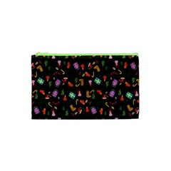 Christmas Pattern Cosmetic Bag (xs)