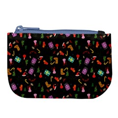 Christmas Pattern Large Coin Purse