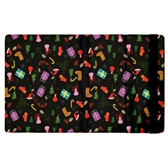 Christmas Pattern Apple Ipad Pro 12 9   Flip Case