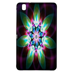 Colorful Fractal Flower Star Green Purple Samsung Galaxy Tab Pro 8 4 Hardshell Case