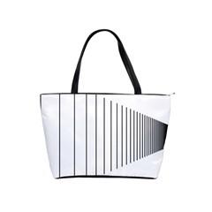 Fence Line Black Shoulder Handbags