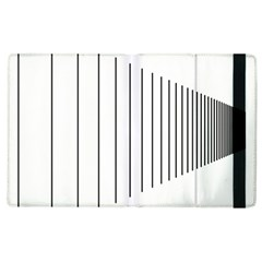 Fence Line Black Apple Ipad 3/4 Flip Case