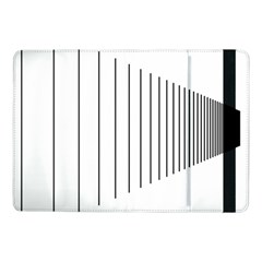 Fence Line Black Samsung Galaxy Tab Pro 10 1  Flip Case