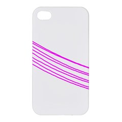 Electricty Power Pole Blue Pink Apple Iphone 4/4s Hardshell Case