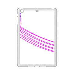 Electricty Power Pole Blue Pink Ipad Mini 2 Enamel Coated Cases