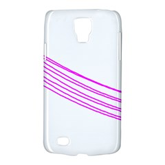 Electricty Power Pole Blue Pink Galaxy S4 Active