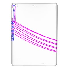 Electricty Power Pole Blue Pink Ipad Air Hardshell Cases