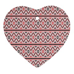 Clipart Embroidery Star Red Line Black Ornament (heart)